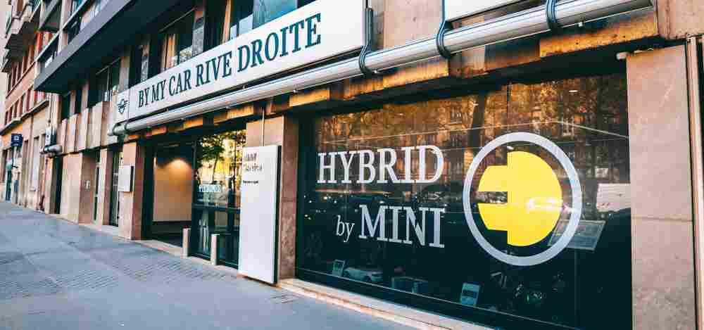 MINI BYmyCAR PARIS RIVE DROITE