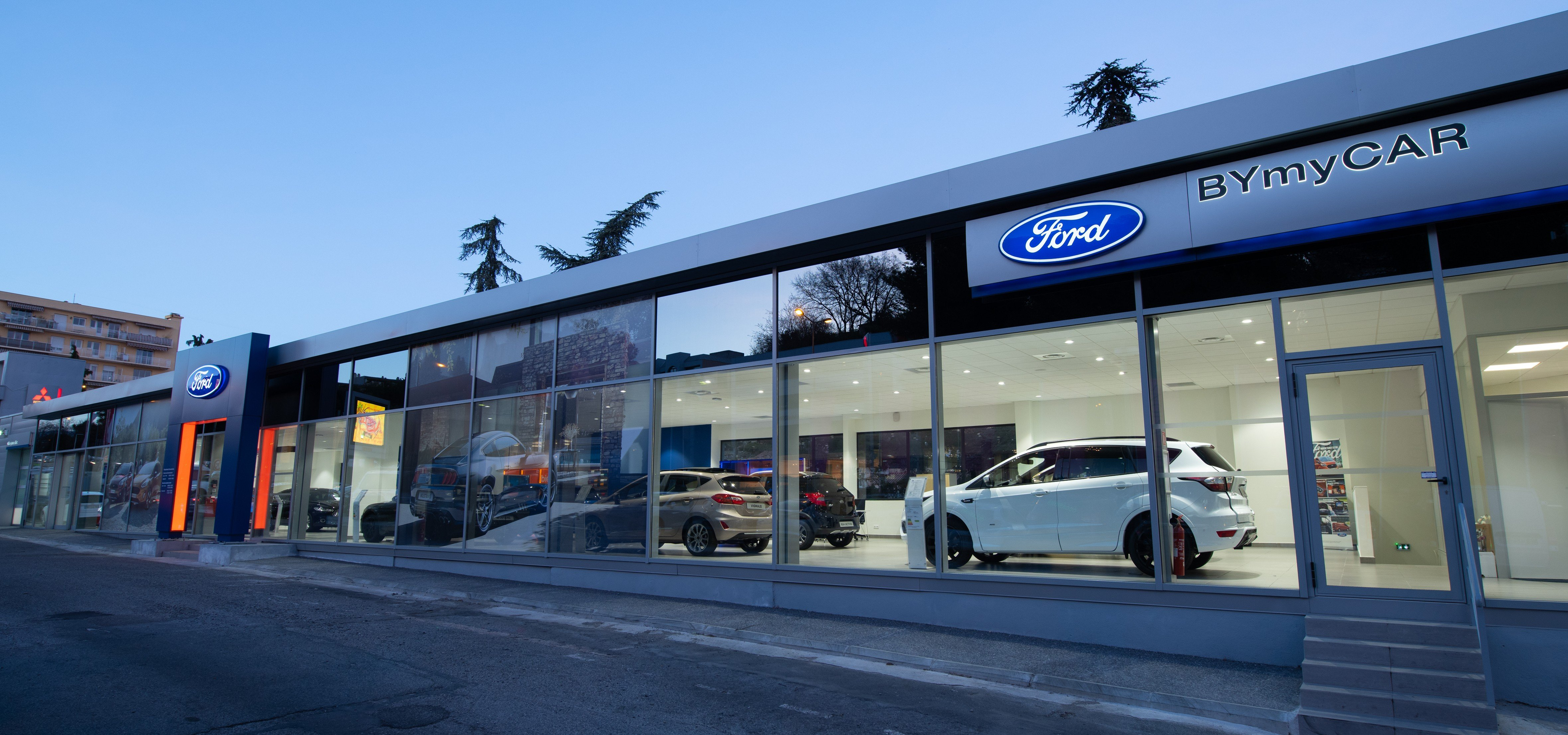 FORD BYmyCAR Cannes
