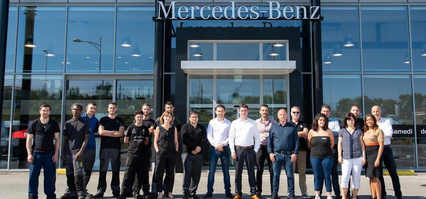 Mercedes-Benz Trucks BYmyCAR Côte d'Azur