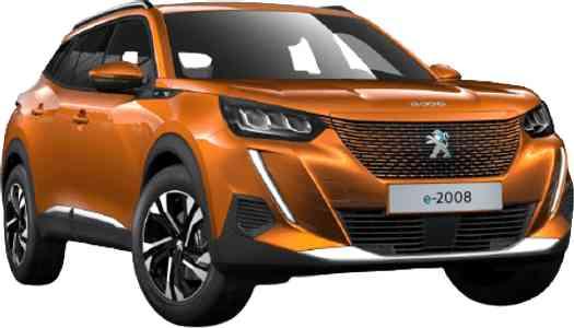 Peugeot e-2008 allure 136 ch